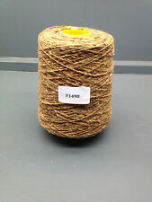 250G 80% WOOL 20% NYLON YARN 2.7NM BROWN DONEGAL YARN F1490