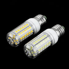 E27 8W 69 LED SMD 5050 Home Light Corn Bulb Lamp With Cover Pure/Warm White DG