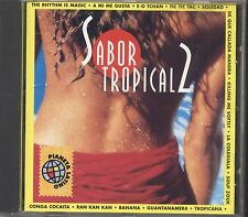 Sabor Tropical 2 - ENERGYPSY BANDA EVA TITO PUENTE - CD 1997 NEAR MINT CONDITION