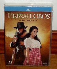 TIERRA DE LOBOS-1-3 SERIE COMPLETA-PACK 11 BLU-RAY-NUEVO-PRECINTADO-NEW-SEALED-