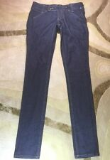 MORPHINE GENERATION SZ 26 Jeans Cotton Stretch Skinny Dark Wash Made In USA