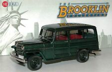 Brooklin BRK 167, 1952 Willys Overland Station Wagon, 4WD, green, 1/43