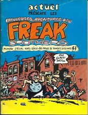 RARE EO 1974 ACTUEL N 38 GILBERT SHELTON FABULEUSES AVENTURES DES FREAK BROTHERS