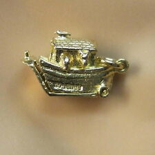 9ct gold new  moveable noahs ark charm