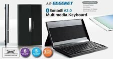 Cliptec Pbk522bk Bluetooth Tablet MULTIMEDIA Keyboard-PSK522+STAND+MAGNETIC COVE