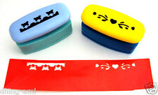SET OF 2 BORDER CRAFT PUNCHES TO MAKE SCHOOL PROJECTS ATTRACTIVE & EASIER