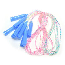Sports Training Plastic Handle Soft Plastic Skipping Jumping Rope for Kids SE