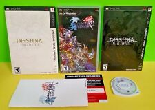 Dissidia Final Fantasy Limited PSP Playstation Portable Rare 2 Slip Covers LE