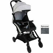 NEW RED KITE PUSH ME CUBE STROLLER BUGGY LIGHTWEIGHT PUSHCHAIR STEEL GREY