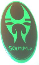 "Soul Fly Green Tribe 3.5""x6.25"" oval STICKER DECAL deadstock new old stock"