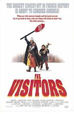 THE VISITORS Movie POSTER 27x40 Jean Reno Christian Clavier Mariann Chazel