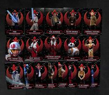 2016 Topps Star Wars Chrome The Force Awakens Heroes Of The Resistance card set