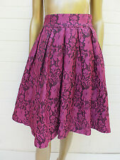 REVIEW PINK EMBROIDERED FULL CIRCLE FORMAL DRESS SKIRT 8 S