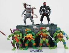 TMNT Teenage Mutant Ninja Turtles Figur Aktion Kollektion Spiele Set 6 teile Neu