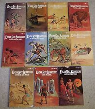 COMPLETE MARS SERIES Lot of 11 EDGAR RICE BURROUGHS Matching D'ACHILLE covers