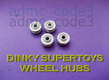 4 DINKY SUPERTOY WHEEL HUB Replacement for Restorations Custom & CODE3 Projects