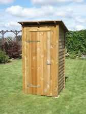 Toilettenhaus Flachdach, Gartenhaus, Geräteschuppen