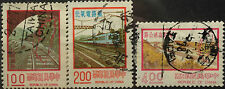 Taiwan Used Stamps - 3 pcs Assorted Stamps (Set A)