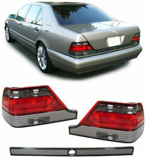 SMOKED REAR TAIL LIGHTS LAMPS FOR MERCEDES S CLASS W140 04/1994-1998 MODEL