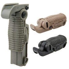 Faltbarer Frontgriff Frontgrip tan sand Airsoft Paintball PaintNoMore (13102)
