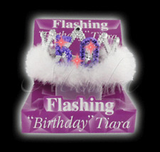 FLASHING 50th BIRTHDAY PARY GIRL TIARA  Girls Hen Night Out