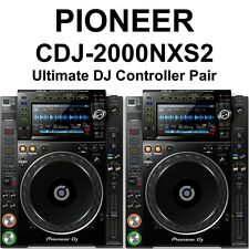 ***PAIR***Pioneer DJ CDJ-2000NXS2 Professional Multi Player