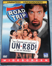 Road Trip (Seann William Scott, Unrated, DVD, 2000)