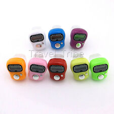 Stitch Marker and Row Counter LCD Electronic Digit Tally Counter Finger Hand
