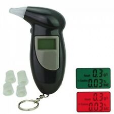 Digital LCD Alcohol Breathalyser Breath Analyzer Tester French France Compatible