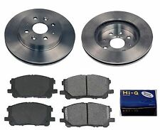 Front Ceramic Brake Pad Set & Rotor Kit for 2003-2005 Kia Rio