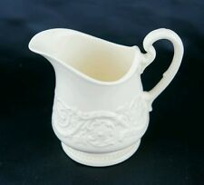 """Wedgwood Patrician Creamer Off White Made in England 4"""" x 4.5"""" x 3"""" Plain Cream"""