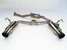 Invidia N1 Dual Catback Exhaust System - Titanium Tips - Honda S2000 - New UK