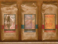 Golden Columbia Label Coffee in Paper Bags  - ONLY $6 -  Wallpaper Border B029
