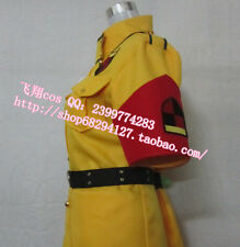 Free shipping Hell sing Seras Victoria Yellow Version Cosplay Costume