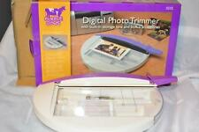 """Purple Cows 9"""" Digital Photo Trimmer 1010 w/Built-In St Brand NEW"""