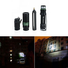 Top Quality 4000 LM 3 Mode Torch Zoomable XM-L Q5 LED Flashlight Focus Lamp