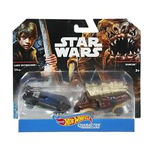 Star Wars Hot Wheels Luke Skywalker vs. Rancor Character Cars 2017 Package