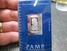 PAMP SWISS .9995 PLATINUM 5 GRAM BAR IN CARD IN GREAT CONDITION