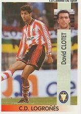 N°307 DAVID CLOTET CD LOGRONES CROMO STICKER PANINI LIGA 1997