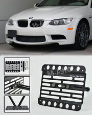 07-13 BMW E90 E92 E93 M3 Only Front Tow Hook Mount License Plate Bracket Holder
