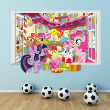 my little pony 3d window wall decal kids room decorative stickers Twilight Spark
