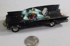 Vintage decent 1966 CORGI BATMOBILE #267 w/ Batman Figure Great Britain diecast