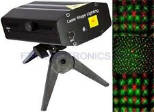 Red and Green Mini Laser Stage Lighting Projector Dance Floor Night Club Music