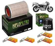 Pack Révision Filtre Huile Air Bougie Honda CB 600 S Hornet PC34 PC36 2000-2003