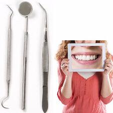Tools Clean Pcs Dental Tool Kit Stainless Steel Mirror DentistCleanHygiene