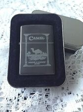 ZIPPO CAMEL BEAST IN MIDNIGHT CHROME DOUBLE SIDED NEW