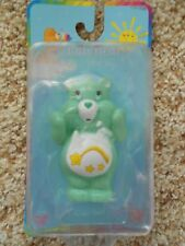 "CARE BEARS WISH BEAR 2 1/2"" PVC PLASTIC FIGURE 2003 NIP"