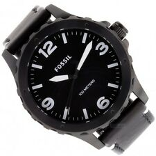 Fossil Nate Herren Uhr Armbanduhr mit Lederband JR1448