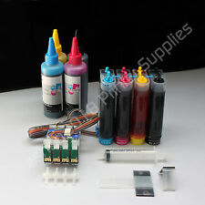 CISS CIS  & extra Set Ink for Epson  CX7400 CX7450