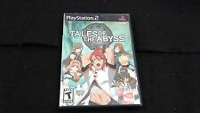 Tales of the Abyss (Sony PlayStation 2, 2006) AS IS DEFECTIVE
